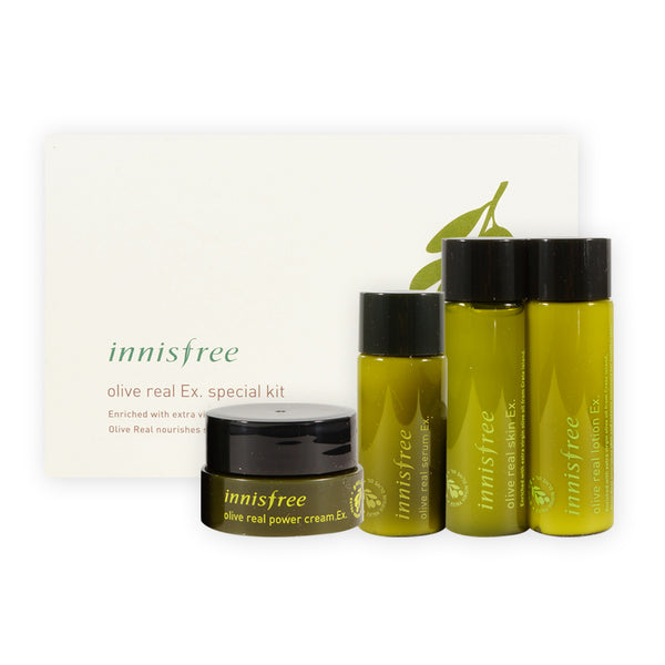 [Sample] [Innisfree] Olive Real Ex Special Kit
