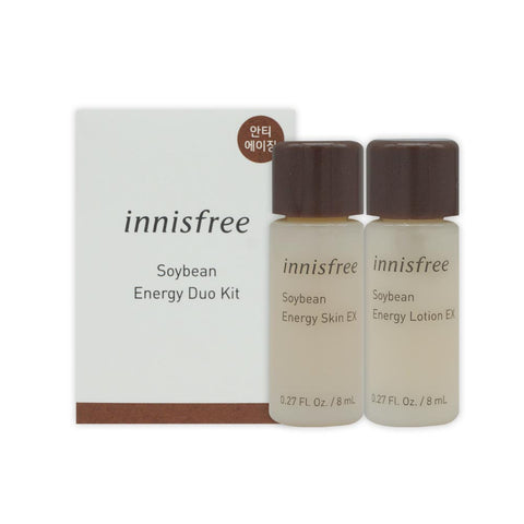 [Sample] [Innisfree] Soybean Energy Dual Kit NEW (2 Items)