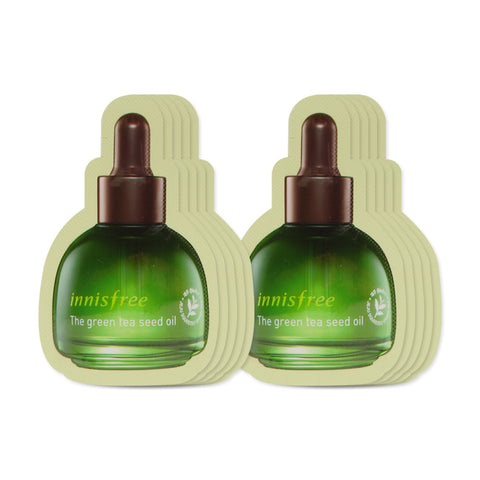 [Sample] [Innisfree] The Green Tea Seed Oil x 10PCS - Cosmetic Love