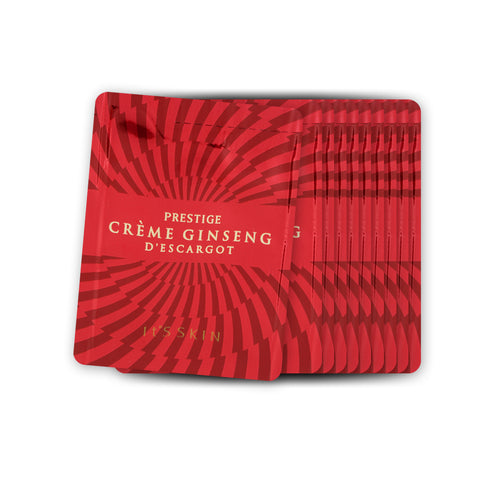 [Sample] [It's Skin] PRESTIGE Creme Ginseng D'escargot x 10PCS