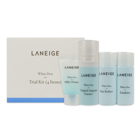 [Sample] [Lanegie] White Dew Trial Kit (4 Items)
