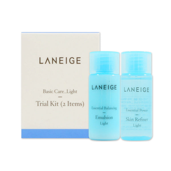 [Sample] [Laneige] Basic Care Trial Kit Light (2 Items) - Cosmetic Love