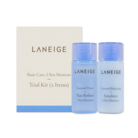 [Sample] [Laneige] Basic Care Trial Kit #Ultra Moisture (2 Items)