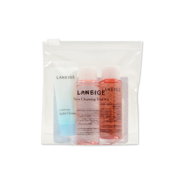 [Sample] [Laneige] NEW Cleansing Trial Kit (3 Items) - Cosmetic Love