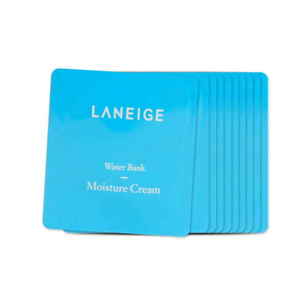 [Sample] [Laneige] Water Bank Moisture Cream x 10PCS - Cosmetic Love