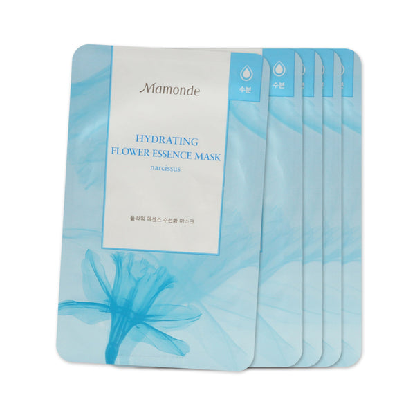 [Sample] [Mamonde] Flower Essence Mask # Narcissus-Hydrating x 5PCS - Cosmetic Love