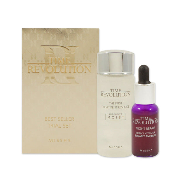 [Sample] [Missha] Time Revolution Bestseller Trial Set (2 Items) - Cosmetic Love