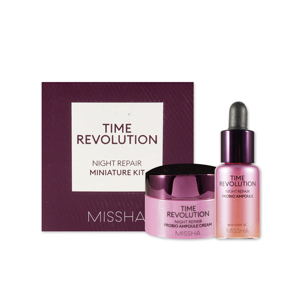 [Sample] [Missha] Time Revolution Night Repair Kit (2 Items)