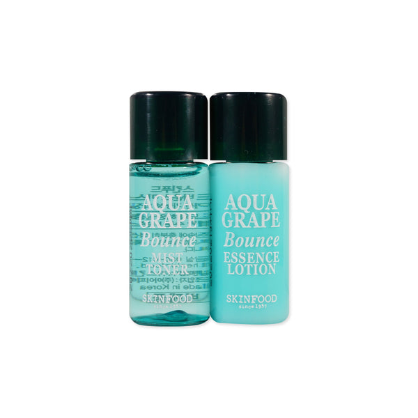 [Sample] [Skin Food] Aqua Grape Bounce Mist Toner & Essence Lotion