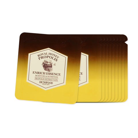 [Sample] [Skin Food] Royal Honey Propolis Enrich Essence x 10PCS