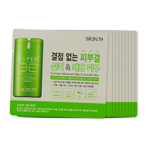 [Sample] [Skin79] Green Super Plus Beblesh Balm x 10PCS