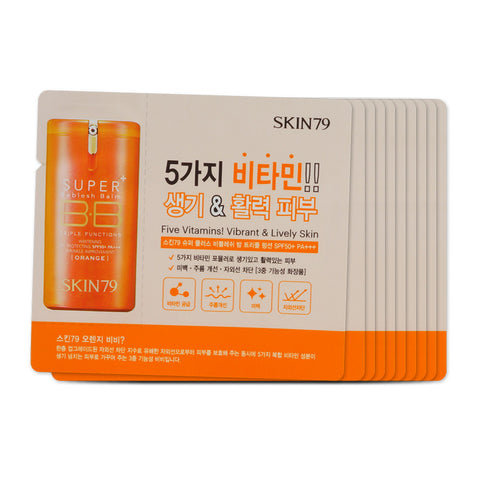[Sample] [Skin79] Orange Super Plus Beblesh Balm x 10PCS