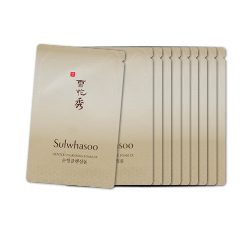 [Sample] [Sulwhasoo] Gentle Cleansing Foam (Pouch) x 10PCS - Cosmetic Love