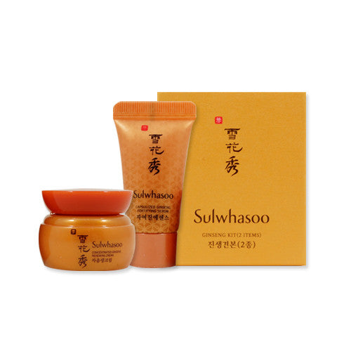 [Sample] [Sulwhasoo] Ginseng Kit (2 Items) - Cosmetic Love