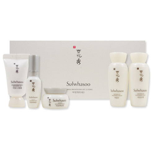 [Sample] [Sulwhasoo] Snowise Brightening Kit (5 Items)