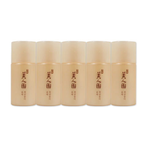 [Sample] [The Face Shop] Myeonghan Miindo Heaven Grade Ginseng Emulsion x 5PCS - Cosmetic Love