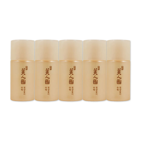 [Sample] [The Face Shop] Myeonghan Miindo Heaven Grade Ginseng Toner x 5PCS - Cosmetic Love