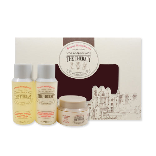 [Sample] [The Face Shop] The Therapy Special Kit (3 Items) - Cosmetic Love