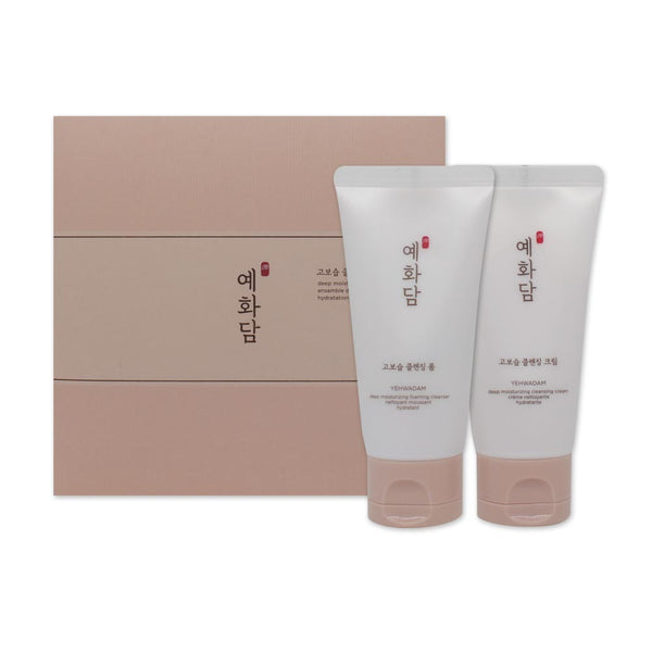 [Sample] [The Face Shop] Yehwadam Deep Moisturizing Cleansing Kit (2 Items)