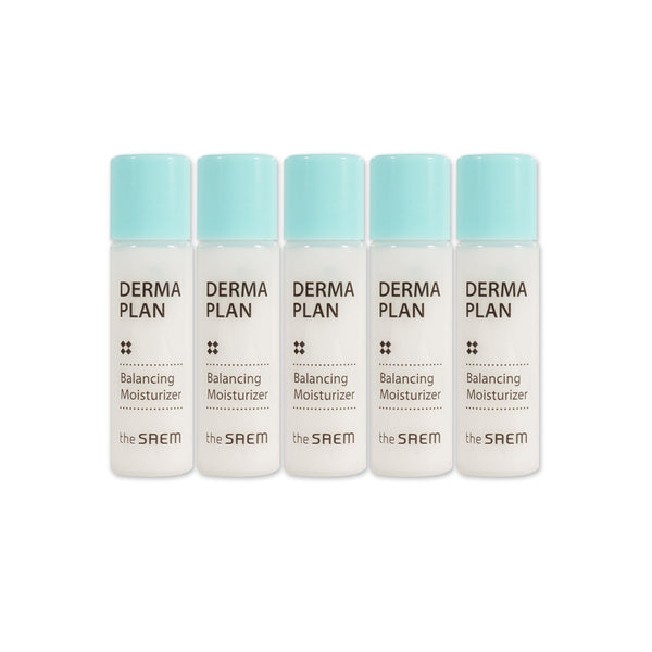 [Sample] [The Saem] Derma Plan Balancing Moisturizer x 5PCS