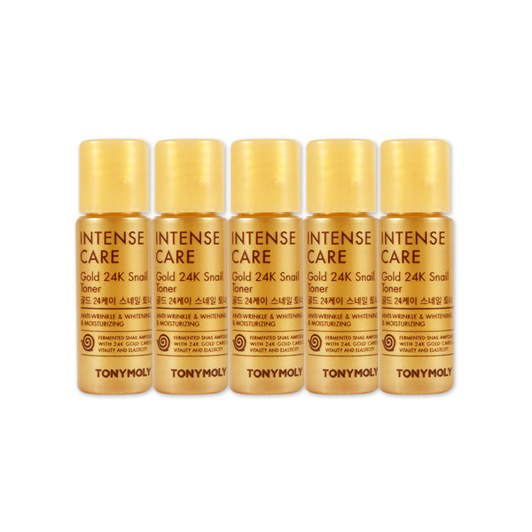 [Sample] [Tonymoly] Intense Care Gold 24K Snail Toner x 5PCS