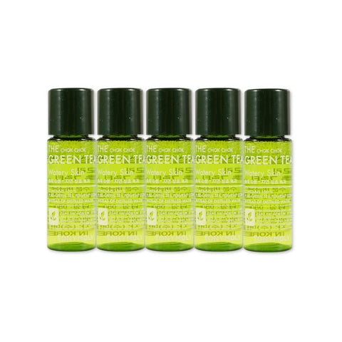 [Sample] [Tonymoly] The Chok Chok Green Tea Watery Skin x 5PCS