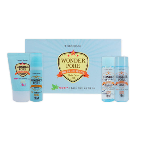 [Sample][Etude House] Wonder Pore Skin Care Kit (4EA) - Cosmetic Love