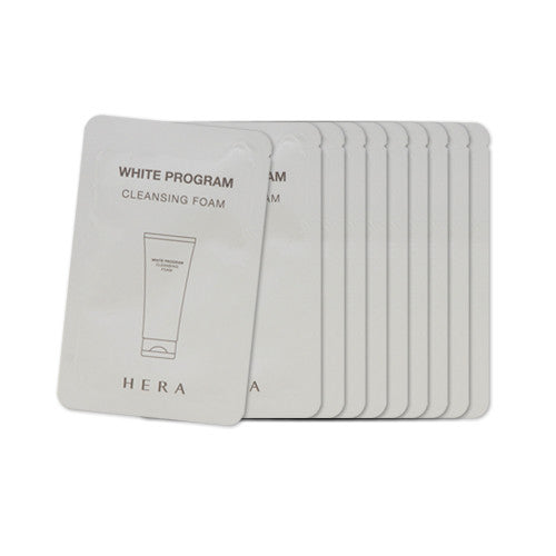 [Sample][Hera] White Program Cleansing Foam x 10PCS - Cosmetic Love
