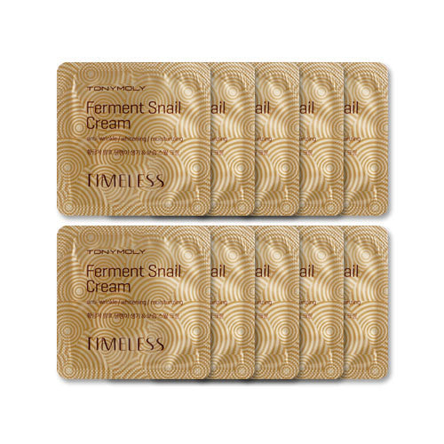 [Sample][Tonymoly] Timeless Fermented Snail Cream x 10PCS - Cosmetic Love