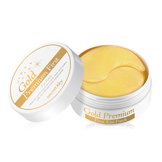 [Secret Key] Gold Premium First Eye Patch 60ea - Cosmetic Love