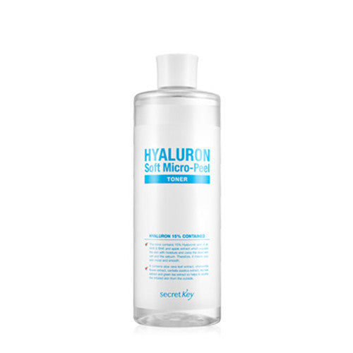 [Secret Key] Hyaluron Soft Micro-Peel Toner - Cosmetic Love