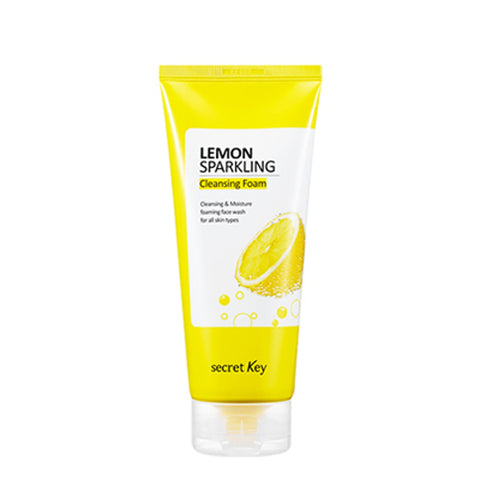 [Secret Key] Lemon Sparkling Cleansing Foam 200g