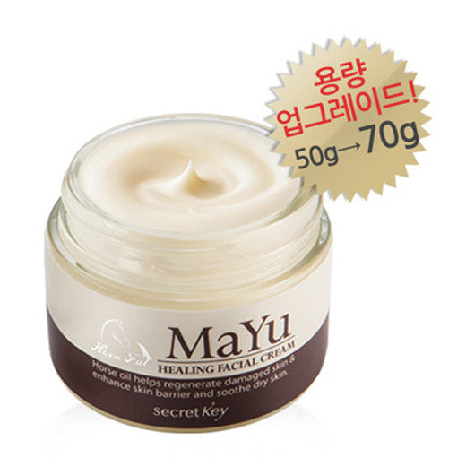 [Secret Key] Mayu Healing Facial Cream 70g - Cosmetic Love