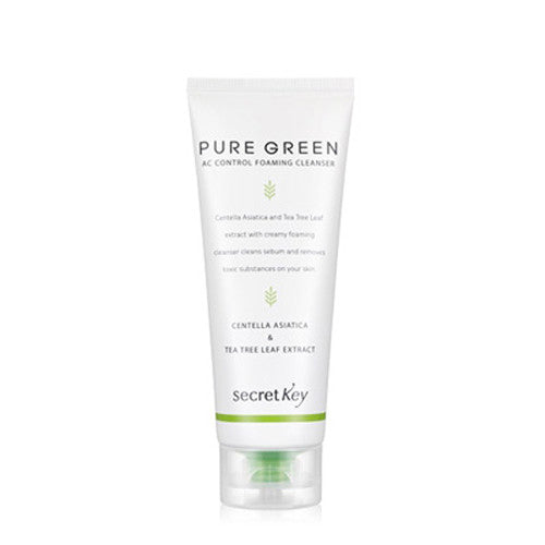 [Secret Key] Pure Green AC Control Foaming Cleanser - Cosmetic Love