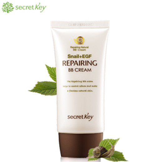 [Secret Key] Snail Repairing BB Cream 50ml - Cosmetic Love