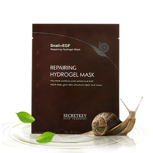 [Secret Key] Snail Repairing Hydrogel Mask 1P 30g - Cosmetic Love
