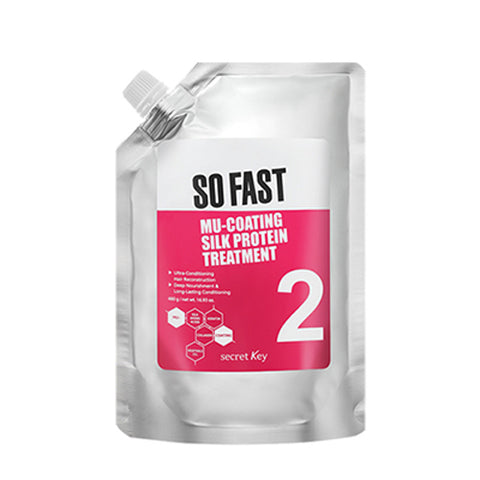 [Secret Key] So Fast Mu-Coating Silk Protein Treatment 480g