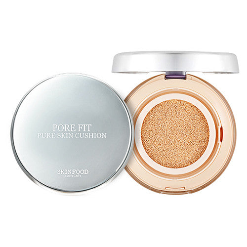 [Skin Food] Pore Fit Pure Skin Cushion SPF50+ PA+++ - Cosmetic Love