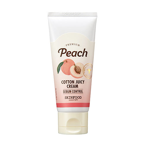 [Skin Food] Premium Peach Cotton Juicy Cream 60ml