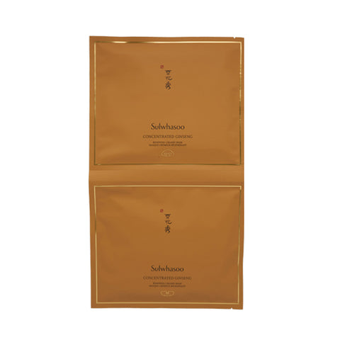 [Sulwhasoo] Concentrated Ginseng Renewing Creamy Mask 5 Sheets