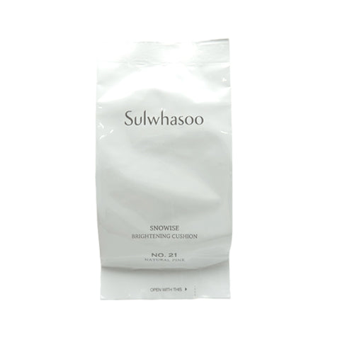 [Sulwhasoo] Snowise Brightening Cushion NO.21 Natural Pink Refill 14g