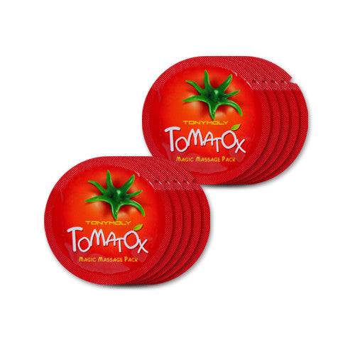 [Sample][Tonymoly] TOMATOX Magic Massage Pack x 10PCS - Cosmetic Love