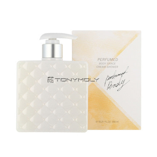 [Tonymoly] Perfumed Body Grace Cream Shower 290ml - Cosmetic Love