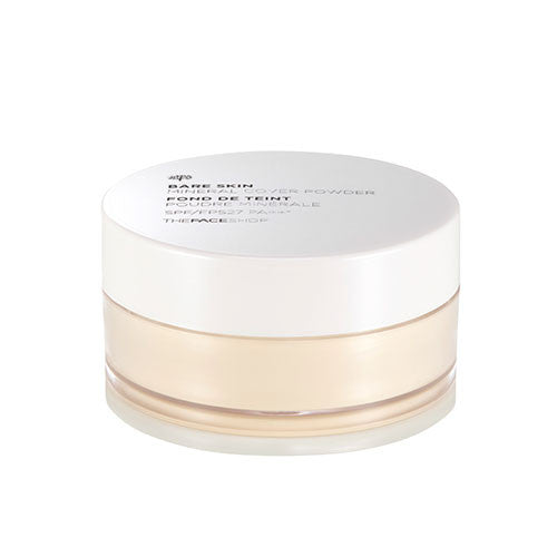 [The Face Shop] Bare Skin Mineral Cover Powder SPF27 PA++ 15g - Cosmetic Love