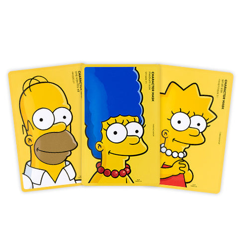 [The Face Shop] Character Mask (The Simpsons Edition) 25g - Cosmetic Love