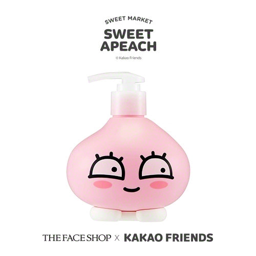 [The Face Shop] Cherry Blossom Body Wash (Sweet Apeach Edition) 400ml