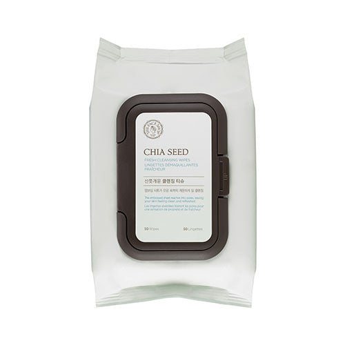 [The Face Shop] Chia Seed Cleansing Wipes 2016 - Cosmetic Love