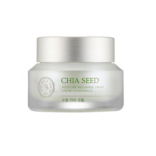 [The Face Shop] Chia Seed Moisture Recahrge Cream - Cosmetic Love