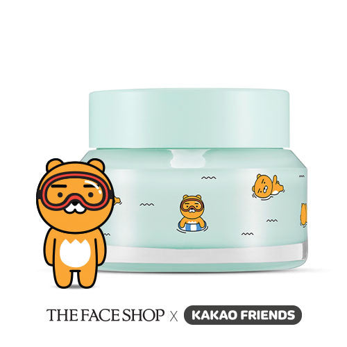 [The Face Shop] Chia Seed No Shine Hydrating Cream Kakao - Cosmetic Love