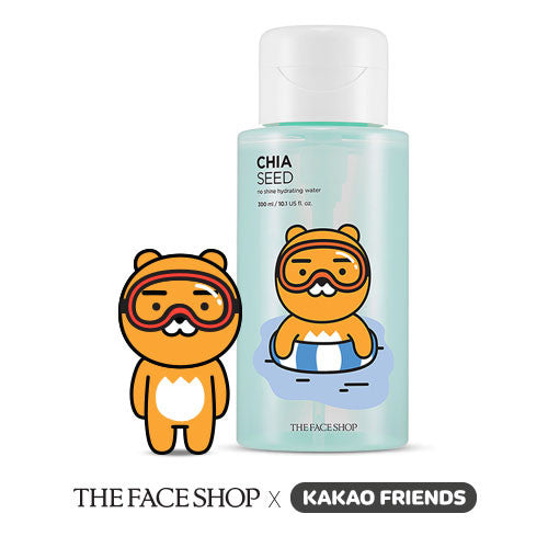 [The Face Shop] Chia Seed No Shine Hydrating Water Kakao - Cosmetic Love